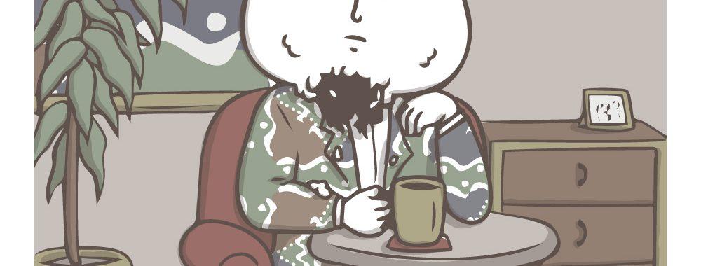 onigiri coffee